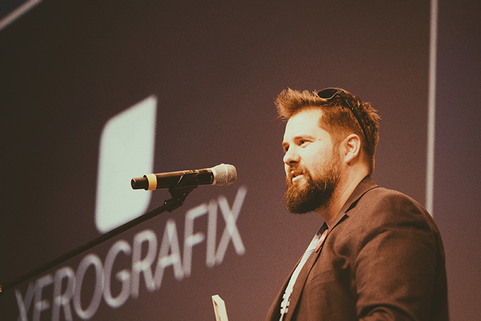 Xerografix CEO Thomas Frierss